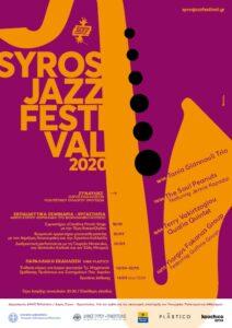 SyrosJazzFestival20 poster